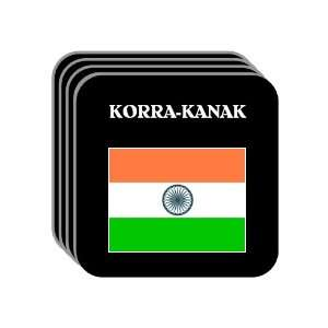 India   KORRA KANAK Set of 4 Mini Mousepad Coasters