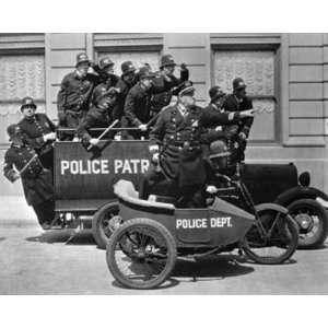 Keystone Cops by Unknown 14x11: Home & Kitchen