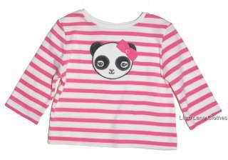 Gymboree Panda Academy Shirt Jeans Dress Orange Pink U PIK NWT 3 24 m