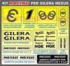 KIT adesivi accessori stickers per GILERA NEXUS sponsor