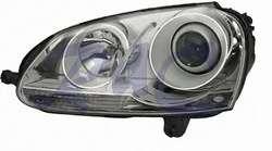 KIT FARI FANALI ANT. HELLA VW GOLF V 03 08 LENT/XENON