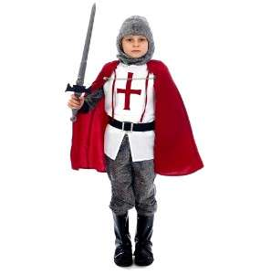 CRUSADER FANCY DRESS COSTUME KIDS PARTY PLAY BOYS OUTFIT U36035
