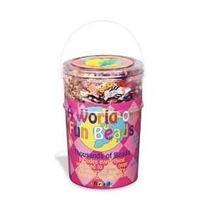 A Barrel of Fun Beads   Medium Barrel Toys & Games