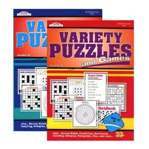 KAPPA Variety Puzzles & Games Book, Case Pack 48 Office