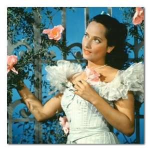 Merle Oberon Color Box Canvas Print Gallery Wrapped Home