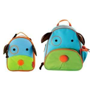 Skip Hop Zoo Pack Little Kid Backpack and Lunch Box   Dog  Toys