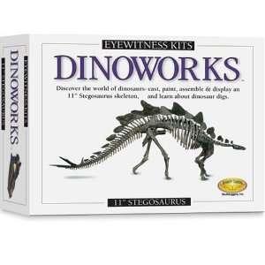 Skullduggery Eyewitness Kit Dinoworks Stegosaurus Skeleton