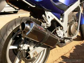 Hyosung GTR125 Stainless MTC Tri Oval Exhaust GTR