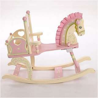Levels of Discovery Kiddie Ups Rock A My Baby Rocking Horse  Wayfair