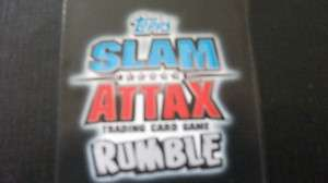 WWE SLAM ATTAX RUMBLE SMACKDOWN CARDS, CHOOSE WHICH CARD YOU WANT