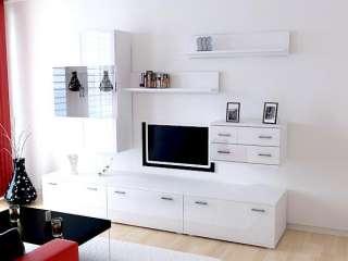 Pin ebay meuble tv hi fi 2 portes 1 tiroir italien on for Meuble mural italien