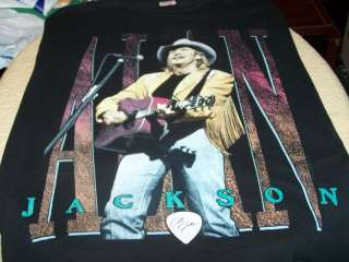 ALAN JACKSON 1994 Country Concert Tour BLACK T Shirt LG