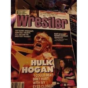 MAGAZINE   JUNE 1993 ISSUE (HULK HOGAN COVER) THE WRESTLER Books