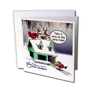 Rich Diesslins Cartoon Days of Christmas TCDC   Larry Miller   Santa
