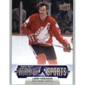 Upper Deck World of Sports Baseball Trading Card # 360 Larry Robinson