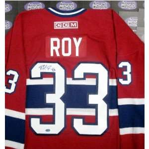 Patrick Roy Signed Uniform   (Montreal Canadiens): Sports