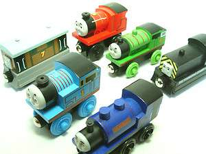 Thomas the Tank Engine Wooden Railway Train Toy.