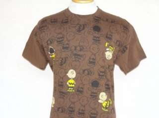 vtg PEANUTS t shirt CHARLIE BROWN M