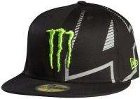 Fox Racing Mens Monster Logo RC 4 Carmichael New Era Fit Flat Bill MX