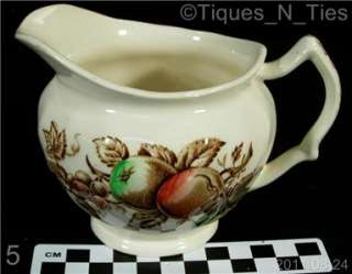 Johnson Brothers Harvest Time Colored Fruit Creamer