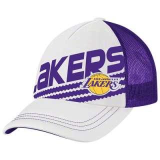 Los Angeles Lakers Womens adidas Originals White Court Series III