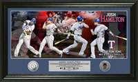 Texas Rangers Memorabilia, Texas Rangers Autograph, Rangers