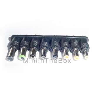 Adjustable Universal Laptop Car DC Adapter with 8 Connectors (14V 24V