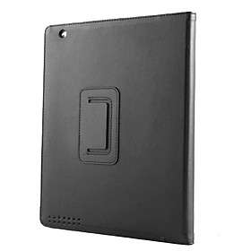 US$ 10.99   Protective Hard PU Leather Case + Stand for iPad 2 (Black