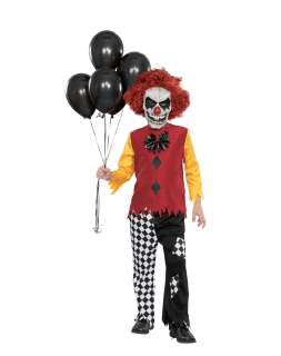 / Last Laugh Evil Clown Teen Costume