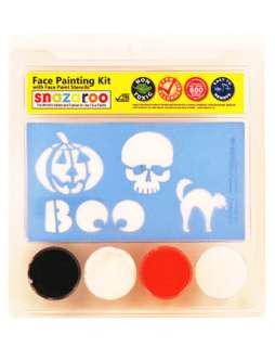 Halloween Face Paint 2 Stencil Set  Makeup Kits Accessories & Makeup