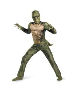 The Amazing Spiderman Movie Boys Classic Muscle Lizard Costume  Boys