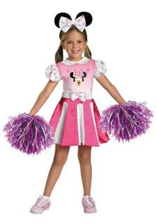Mickey/Minnie Mouse Costumes Girls Minnie Mouse Cheerleader Costume