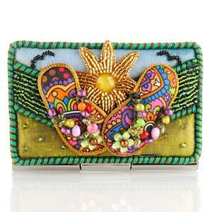 Mary Frances Embellished Sunny Days Card Holder at HSN