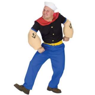Popeye Plus Adult Costume, 61424