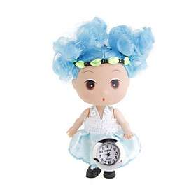 US$ 6.09   Cute Doll Clock Keychains (Assorted 2 Pack), Free Shipping
