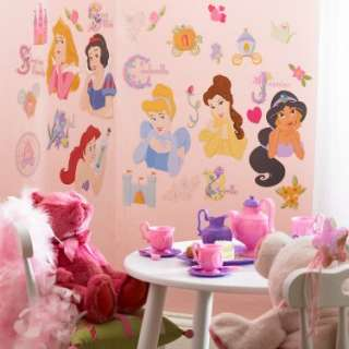 Disney Princess Removable Wall Decorations   Costumes, 57550