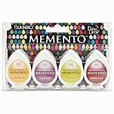 Memento Dew Drops Dye Inkpad 4 Pack   Farmers Market
