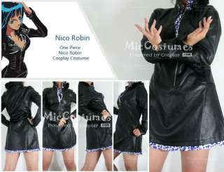This meticulously made One Piece Nico Robin Cosplay Costume is made