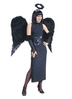 Adult Wide Black Feather Angel Wings   Bored to death of being the