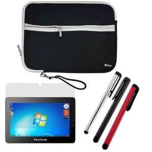 10.1 Inch Tablet   Combo Set Includes Black Neoprene Sleeve Case