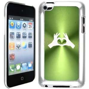 Apple iPod Touch 4 4G 4th Generation Green B593 hard back case