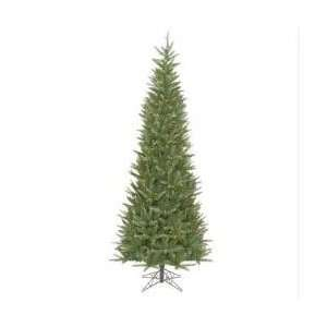 Pre lit Carolina Fir Slim Artificial Christmas Tree   Multi Lights