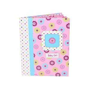 Baby Girl First Record Book Baby Book Flower Pink By Baby