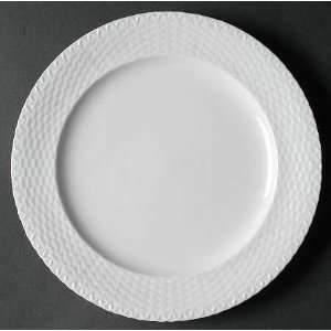 Home Essentials Basket Weave Dinner Plate, Fine China