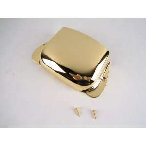 Gold Bass Bridge Cover Fits Jazz or P Style Musical
