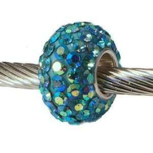 Authentic Swarovski Crystals Charm Bead for European Bead Bracelets