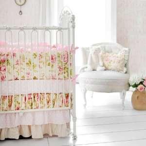 In Full Bloom Crib Bedding Set Baby