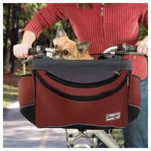 Snoozer Sporty Pet Bike Basket   Red