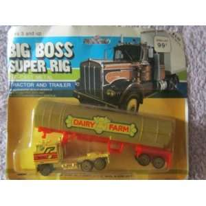 Big Boss Super Rig Dairy Farm Tractor Trailer Toys