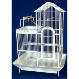 Brand New Parrot Bird Wrought Iron Cage Villa Top 36 x 27